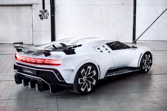 Se billederne: Kostbar hyldest til halvfemsernes Bugatti