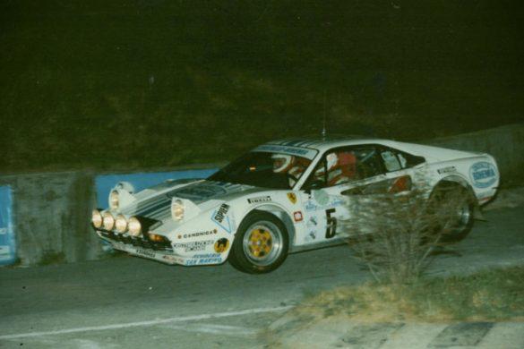Da Ferrari byggede rallybiler